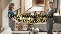 The Young and the Restless Spoilers: Thursday, February 1 - Phyllis Suspects Chelsea's The Thief – Lily Still Rejects Sam