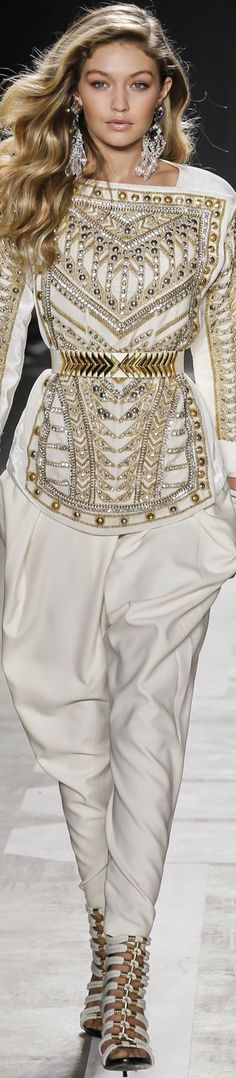 LOOKandLOVEwithLOLO: Balmain x H&M Collaboration Collection Runway 2015