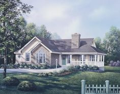 Traditional House Plan with 2194 Square Feet and 3 Bedrooms from Dream Home Source | House Plan Code DHSW076182