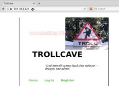 Hack the Trollcave VM (Boot to Root CTF)