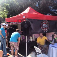 The Devil's Canyon Brewery Beer Garden at Save The Music. #devilscanyon #craftbeer