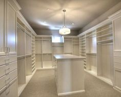 Master Closet Layout, Master Closet Design, Walk In Closet Design, Master Bedroom Closet, Closet Designs, Bedroom Wardrobe, Master Bedrooms, Dream Bedroom, Organizing Walk In Closet
