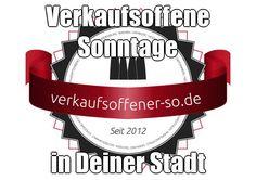 Verkaufsoffene Sonntage  in Deiner Stadt  http://verkaufsoffener-so.de