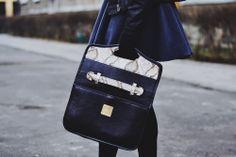 Lookbook MisDesign / 2014 Modelka: Patrycja Tyszka Torebka: Berlin Bag z kolekcji MisDesign  MisDesign. Unikatowe torebki ze skóry.
