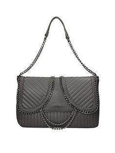 Liu Jo borsa donna a spalla shopping nuova originale christal medium  grigio  Amazon.it  Scarpe e borse 06d04b7de3a