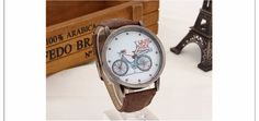 2018 Fashion Brand Quartz Watches Bicycle Pattern Cartoon Watch Women Casual Vintage Leather Girls Kids Wristwatches gifts Clock Simple Cheap Watches outfit accessories from Touchy Style store Leather Bicycle, Leather Box, Vintage Leather, Cheap Watches, Cool Watches, Watches For Men, Women's Watches, Bicycle Women, Bicycle Design