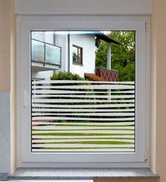 """Fensterfolie Fenstersichtschutz """"Stripes"""""""