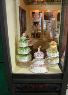 """A Piece of Cake"" window display"
