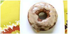 Pumpkin Pie Donuts with Maple Glaze