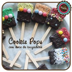 Cookie Pops BrigaDoce