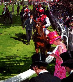 Sherree Valentine Daines - The Parade Ring