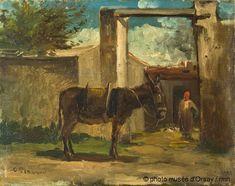Camille Pissarro, Paysage à Montmorencyvers, 1859. Musée d'Orsay, Paris, France