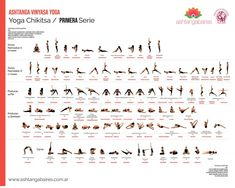 Primera y Segunda Serie | Ashtanga Baires Vinyasa Yoga, Ashtanga Yoga, Math, Chakras, Google, 2nd Grades, Yoga, Yoga Poses, Gymnastics