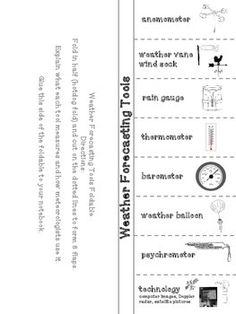 weather instrument word cards free printable ks2 school pinterest weather instruments. Black Bedroom Furniture Sets. Home Design Ideas