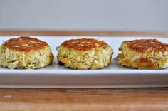 perfect crab cakes. will try this recipe because the one I used this weekend had too much filler.