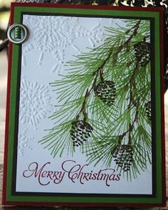 Stampin' Up! Christmas by Karel Standish at Stampin' in My 'Jammies