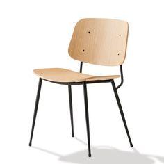 Søborg Chair, metallirunko