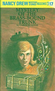 The Mystery of the Brass-Bound Trunk (Nancy Drew, Book 17) by Carolyn Keene http://www.amazon.com/dp/0448095173/ref=cm_sw_r_pi_dp_OmlZwb0J8CDEJ
