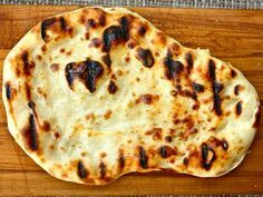 // homemade naan