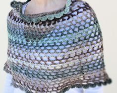 #crochet #poncho #shawl