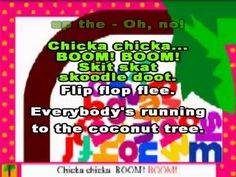 Chicka Chicka Boom Boom - alphabet song!..My kindergarten students love singing this song. They ask for it EVERY day!