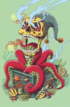 La fresca ilustración de Pedro Correa                                                                                                                                                                                 Más