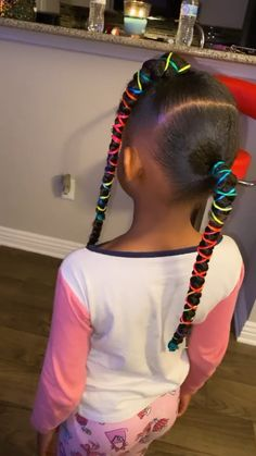 Toddler Braided Hairstyles, Kids Curly Hairstyles, Baby Girl Hairstyles, Mixed Kids Hairstyles, Natural Hairstyles, Little Girl Braids, Girls Braids, Toddler Hair, Toddler Braids