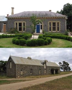 Mawallok Old Homestead, Stockyard Hill (174km W of Melbourne). The land was acquired 1847 by Alexander Russell of the Russell pastoralist dynasty; he built the homestead, woolshed and bluestone stables before gaining pre-emptive right in 1858. The two dams he built were fed by, reputedly, the third largest spring in Victoria. The homestead was extended in the 1860s, but eventually replaced in 1907-8. It remains on the property along with the stables, coach-house and woolshed.