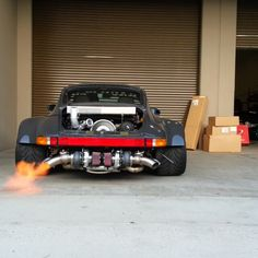 #RWB antilag, test #1, courtesy of #Bisimoto.