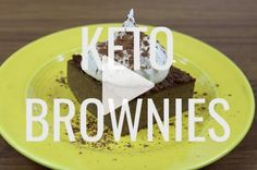 You simply have to try this flourless and nut free keto brownie. It has no added sugar, no coconut, no nuts and is simply the easiest thing to make, all using a stick blender!   ditchthecarbs.com via @ditchthecarbs