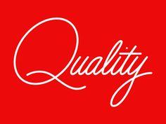 Quality by Jez Burrows