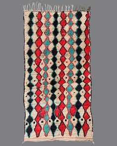 vintage Moroccan rug, Azilal #AZ19