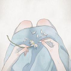 Ooh jitte nee ek is jammer. Dit was net vir my 'n cool artistic illustration die 'i miss you'. Art And Illustration, Character Illustration, Illustrations, Art Anime, Anime Art Girl, Anime Girl Crying, Aesthetic Art, Aesthetic Anime, Arte Inspo