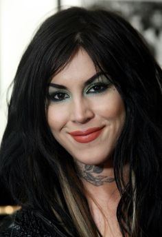 Kat Von D Photos - Tattooist Kat Von D poses at the launch of the new Sorum Noce Collection at the Sorum Noce Store on Melrose, 26 March, 2009 in Los Angeles, California. - Launch Of The New Sorum Noce Collection