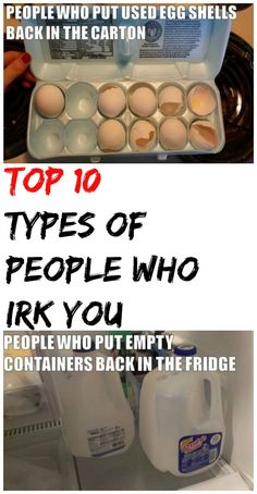 10 TYPES OF PEOPLE WHO SERIOUSLY IRRITATE YOU http://omgshots.com/3338-top-10-types-of-people-who-irk-you.html
