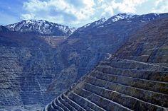 Kennecott Copper Mine, Bingham Canyon, Utah, USA