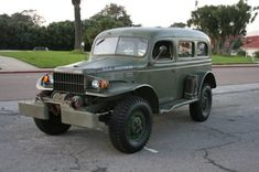 1942 Dodge Power Wagon WC-53 Carryall