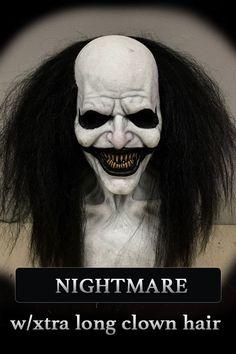 Evil Clowns, Scary Clowns, Creepy, Adulte Halloween, Masque Halloween, Halloween 2020, Scary Halloween, Halloween Makeup, Immortal Masks
