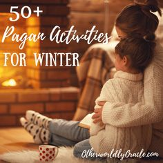 Get out your mittens, mugs, and mistletoe, because Winter is here! Check out these 50 fun, family oriented pagan activities for Winter!