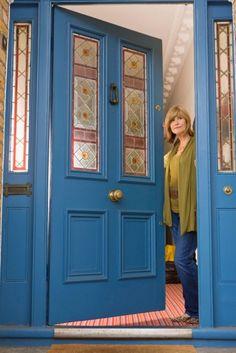 Haustür landhaus blau  Menschen mit einer roten Haustüre sind am glücklichsten | Haustür ...