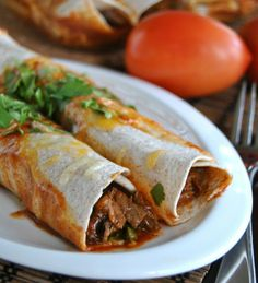 You might first think 'hey, skinny enchiladas?' yeah, I know, it's hard to believe…but by using low fat cheese and …
