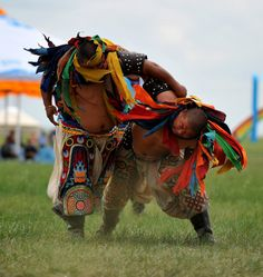2nd Jianggatu Mongolian Wrestling Game, (July 12 2012) Inner Mongolian Autonomous Region.
