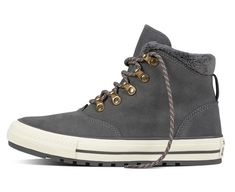 Converse Chuck Taylor All Star Ember Boot Suede and Faux Fur  thunder thunder egret 5065aca90a