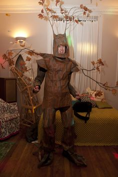 Amazing Tree Costume, but might be annoying to wear.