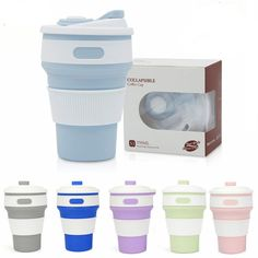 Purchase STYLEDOME Hot New Folding Silicone Portable Silicone Telescopic Drinking Collapsible coffee cup multi-function folding silica cup Travel from Coffee Cups, Tea Cups, Friendly Plastic, Plastic Cups, Outdoor Travel, Telescope, Drinkware, Cup And Saucer, Hot