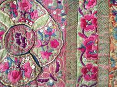 Vintage Miao textile | China