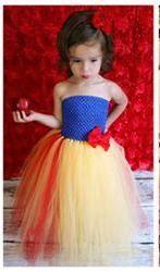 snow white tutu dress for little girl photo shoot