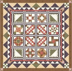 This site has many free quilt blocks, and quilt patterns  Tutorial.   I like this quilt best from the quilt of the month patterns       http://www.blockcentral.com/bom2009-intro.shtml