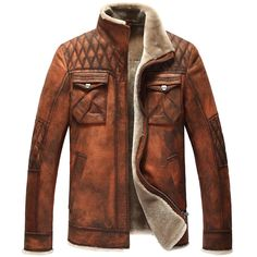 Cheap Leather & Suede on Sale at Bargain Price, Buy Quality jacket hunting, jacket new, coat jacket sale from China jacket hunting Suppliers at Aliexpress.com:1,Material:Fur,Genuine Leather,Wool 2,Outerwear Type:Leather & Suede 3,Craft\Technics:Full Pelt 4,front fly:zipper 5,Sleeve Length:Full