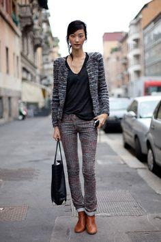 Étoile Isabel Marant Momo jacket and Itzel corduroy pants